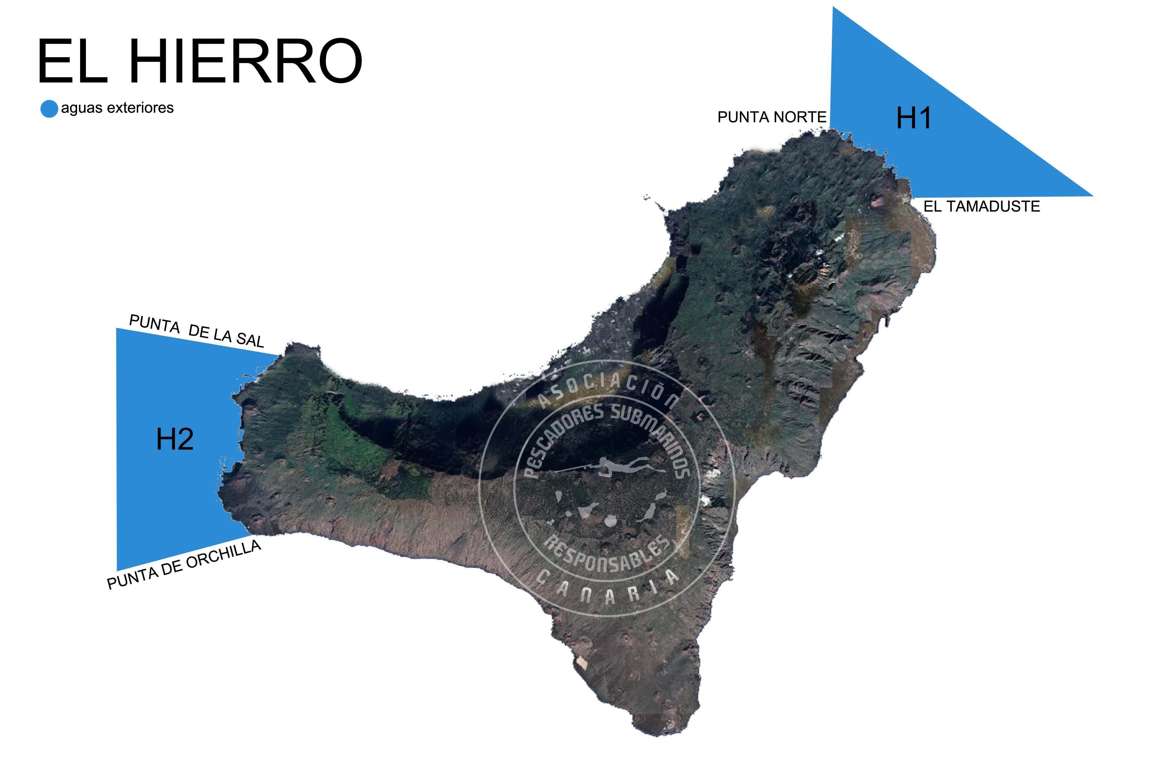 Zonas De Pesca Submarina En Canarias Asociación Canaria De Pescadores Submarinos Responsables